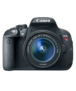 Canon DSLR EOS 700D  (18MP Camera with 18-55mm kit)