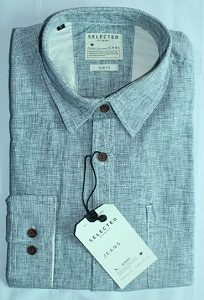 SELECTED JEANS Man's Shirt-SH-0052