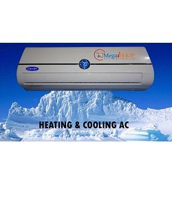 Carrier 1.5 Ton Air conditioner Hot & Cool